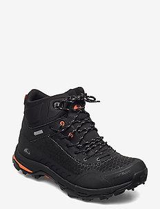 Rask Spikes GTX  M - hiking shoes - black/orange