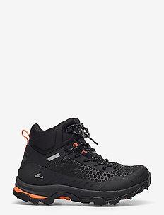 Rask Spikes GTX W - buty na wędrówki - black/orange
