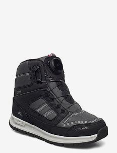 Tyssedal Boa GTX - boots - black/charcoal