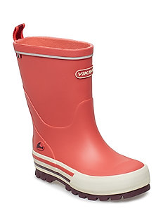 Jolly - unlined rubberboots - korall/multi