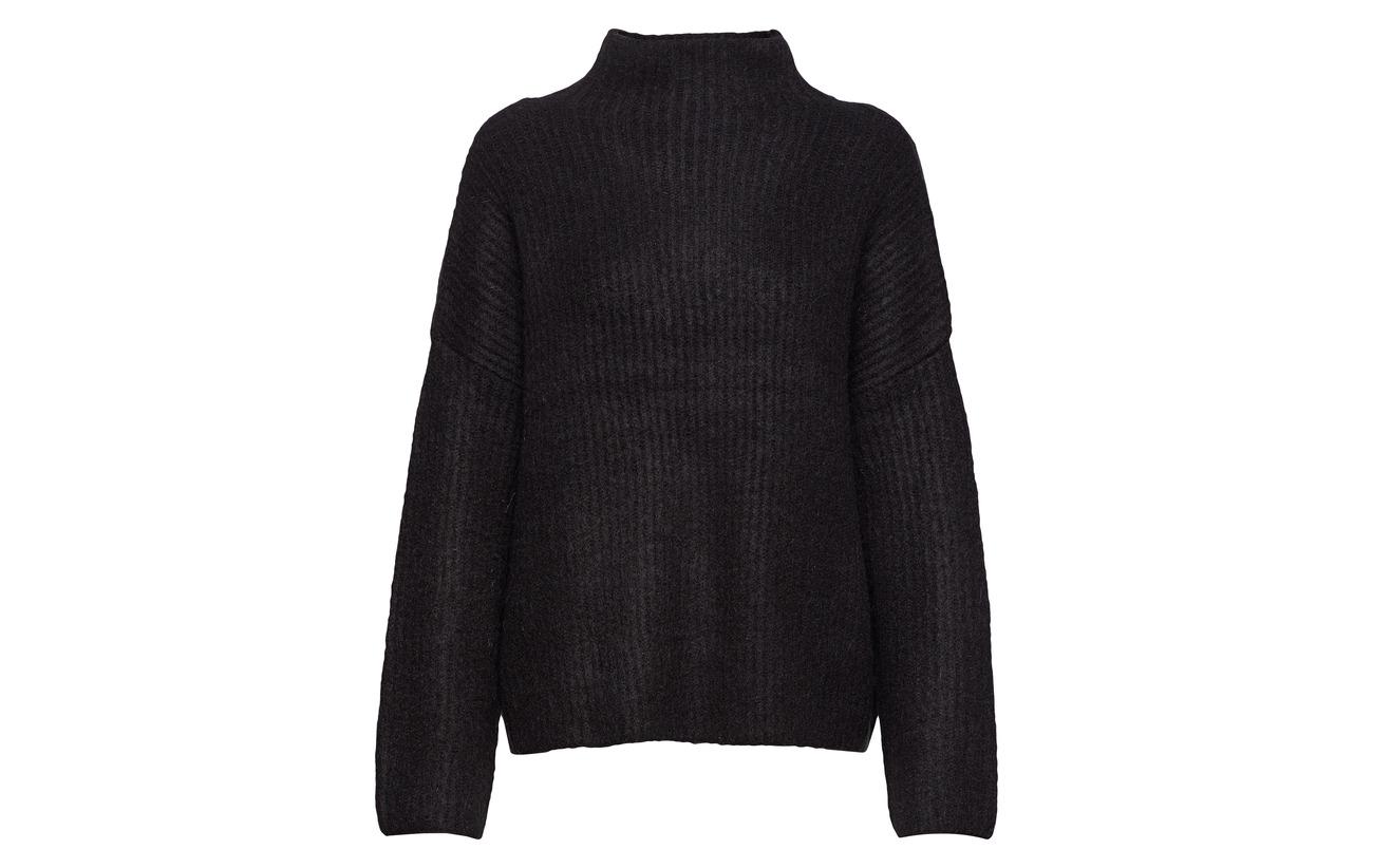 Elastane Mohair 3 13 10 Knit Vila Nylon Acrylique Polyester 63 Vigrip 11 Black Top ZPpqwPURO
