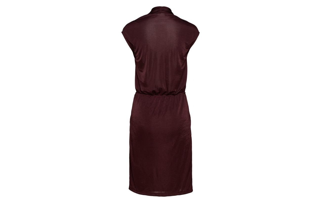 100 Visatinas Black Vila l Dress S Polyester dTxwXH8q