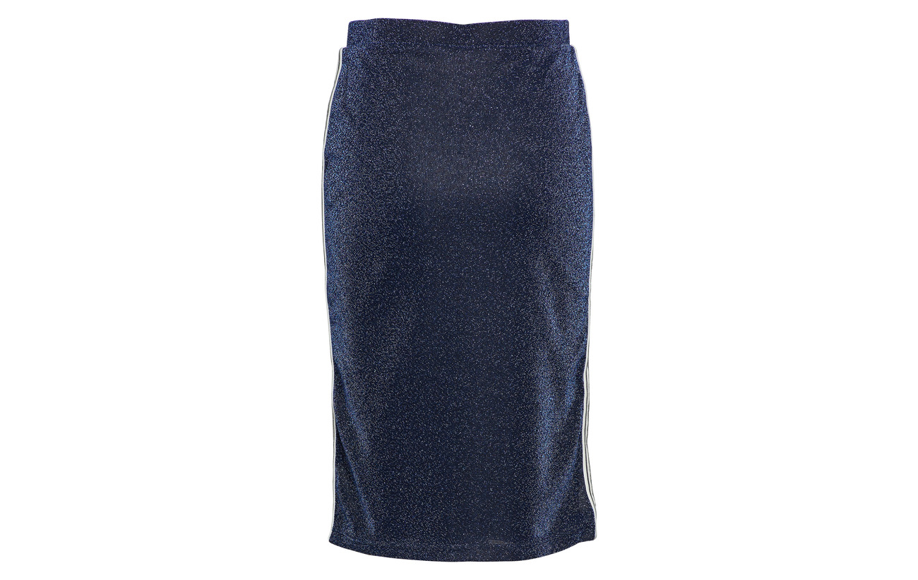 Vila Pencil 50 Métallique Vilux Fibers Polyester Navy Skirt Blazer ZqXZ5rz