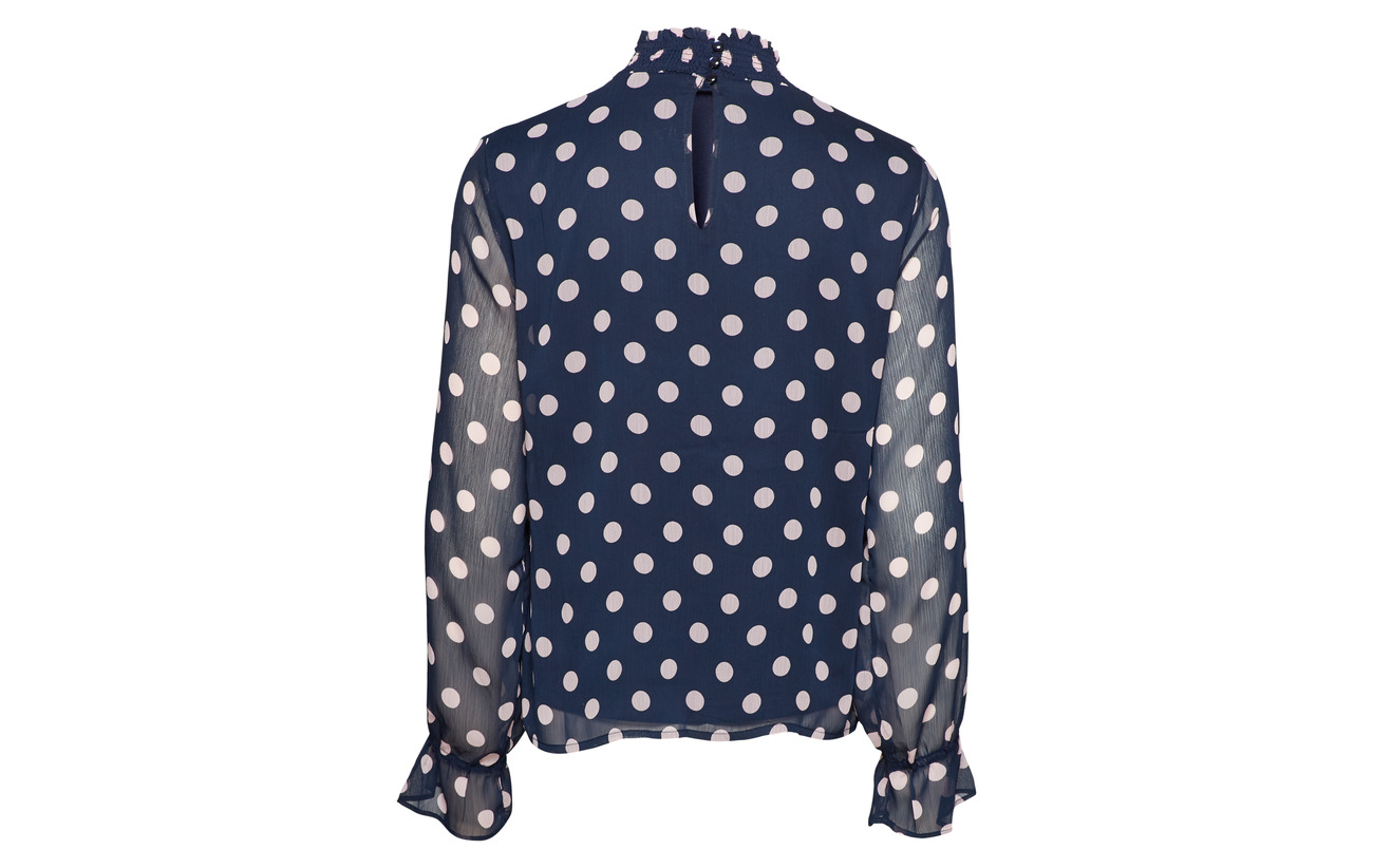 Top Navy Vidotly Blazer Polyester L Vila s 100 qwtxSIId