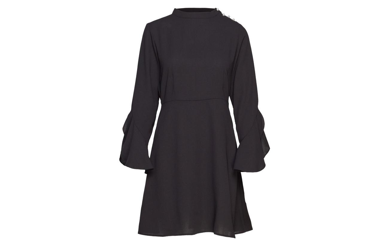 Navy Pearl Blazer L Dress s 100 Visarina Polyester Vila wSzxqpXp