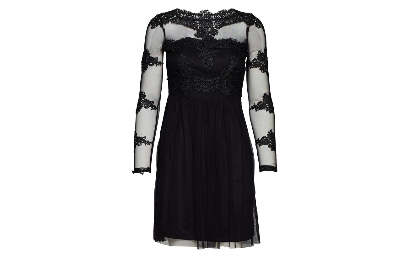 s 100 Vila Bone L Dress Vigeorgious 1 Black E66qTr
