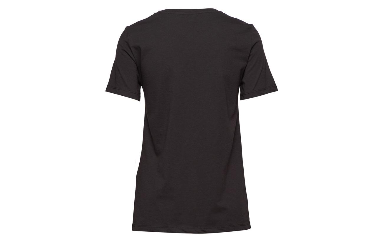 T Vila Coton s 100 Snow S shirt White Vilimonade CttHqwZp