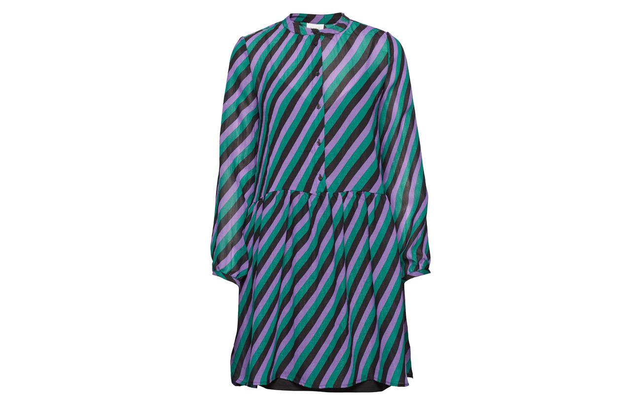 Vila L Polyester Vififi 90 Black rx Dress s Polyamide 10 rrSF6fwqZ