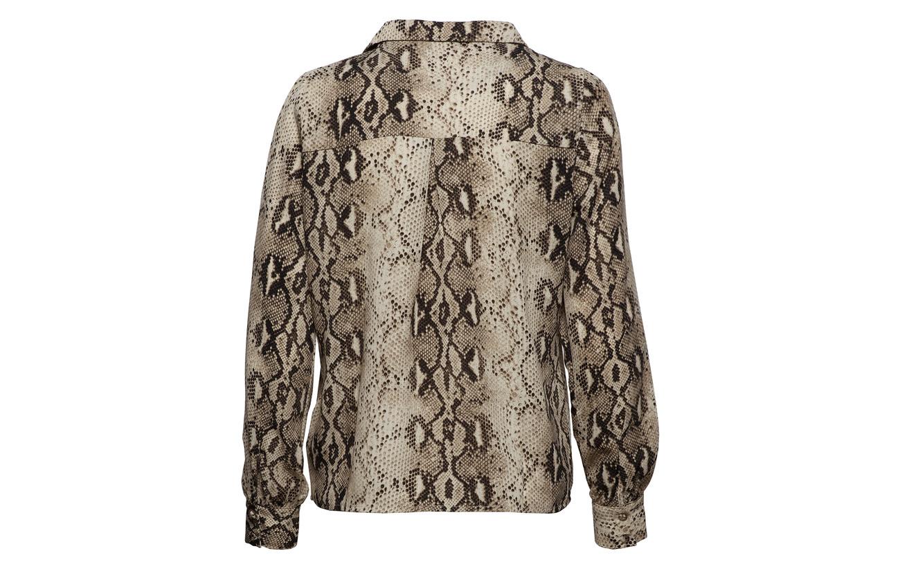 rx Vila Shirt 100 Viamella L Polyester Sandshell s BpwWAIqw