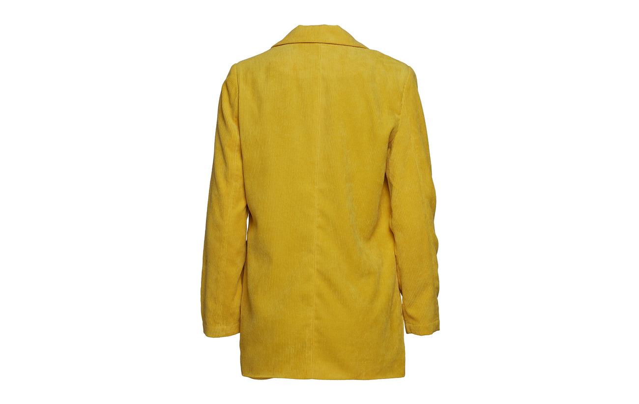 Vila L Viklira 50 Golden Polyester Blazer Viscose rx Rod s rrAq5
