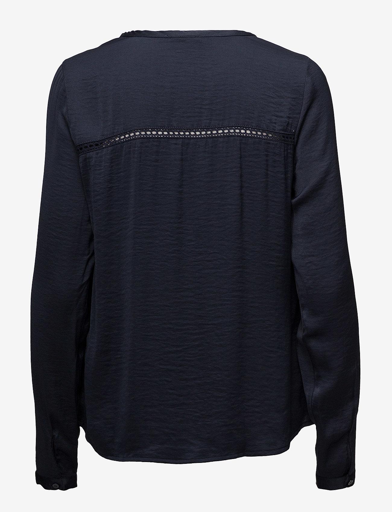 Vila Vicava L/s V-neck Top-noos - Blouses & Shirts