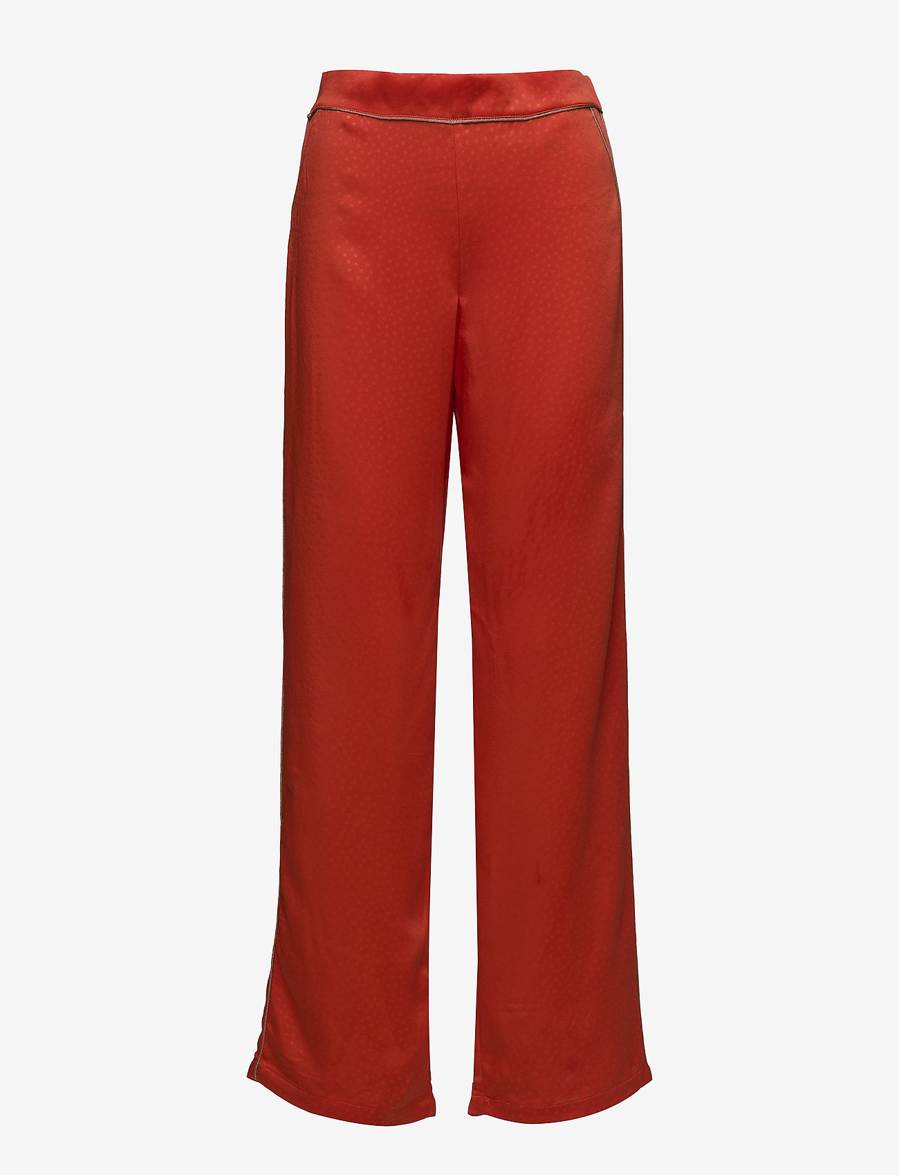 Vila - VIJUANA PANTS - wide leg trousers - orange.com - 0