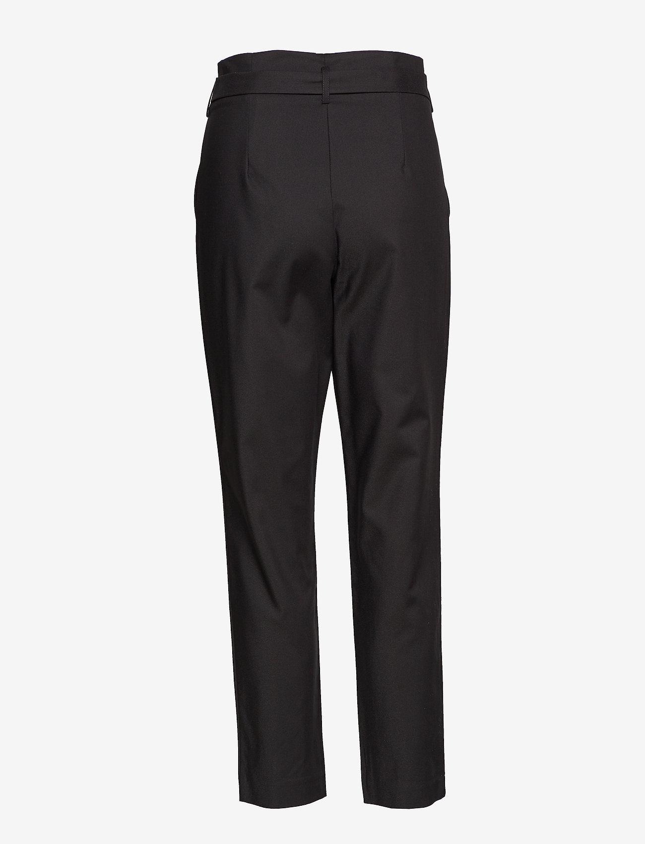 Vila - VISOFINA HWRE 7/8 PANT-NOOS - wide leg trousers - black - 1