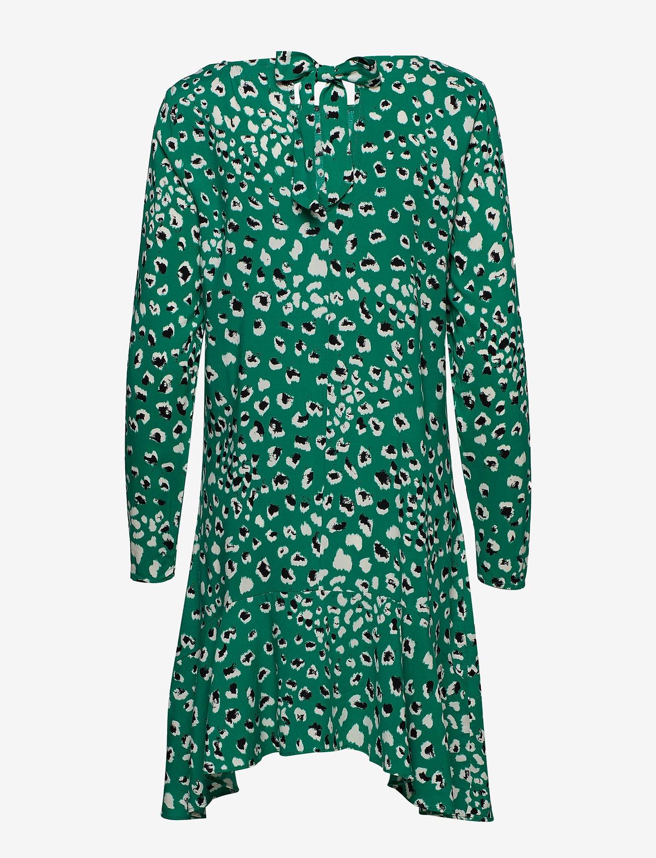 Viatta Pardas L/s Dress (Pepper Green) - Vila v446oN