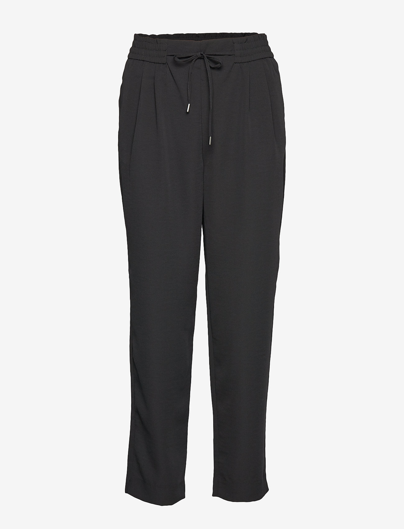 Vila - VIIRIS RWRE 7/8 PANT - NOOS - casual trousers - black - 0