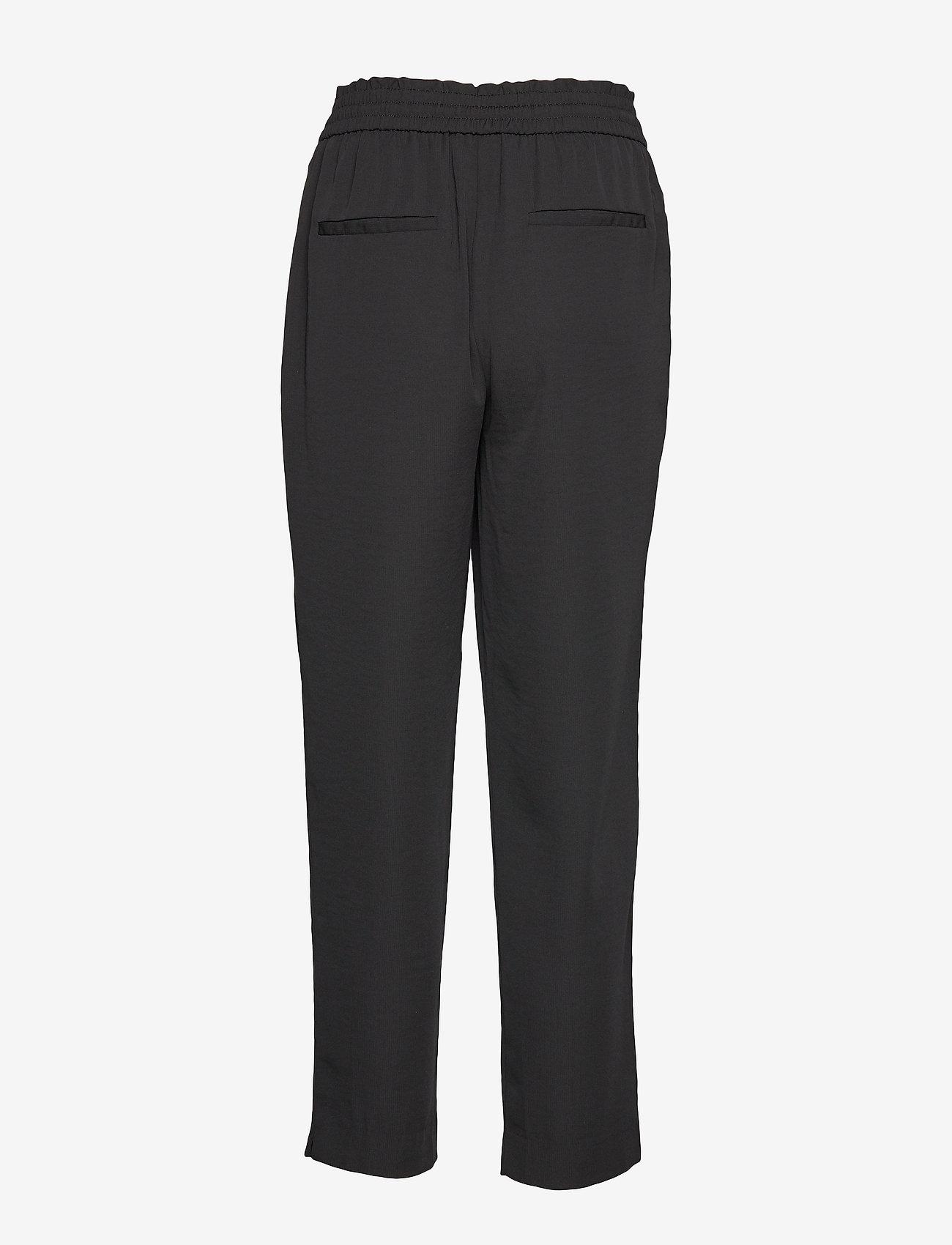 Vila - VIIRIS RWRE 7/8 PANT - NOOS - casual trousers - black - 1