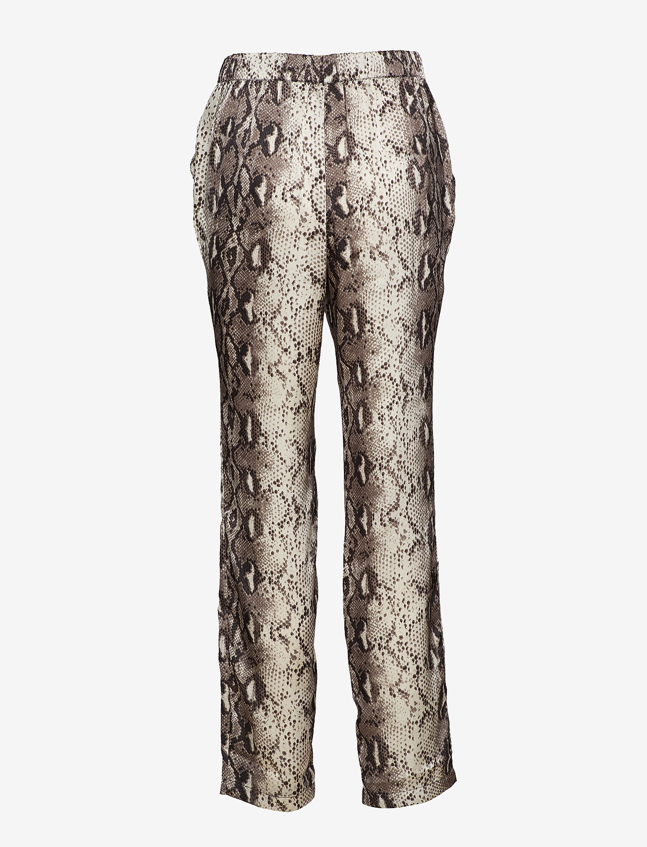 Vila - VIPINJA PANTS /RX - straight leg trousers - cloud dancer - 1