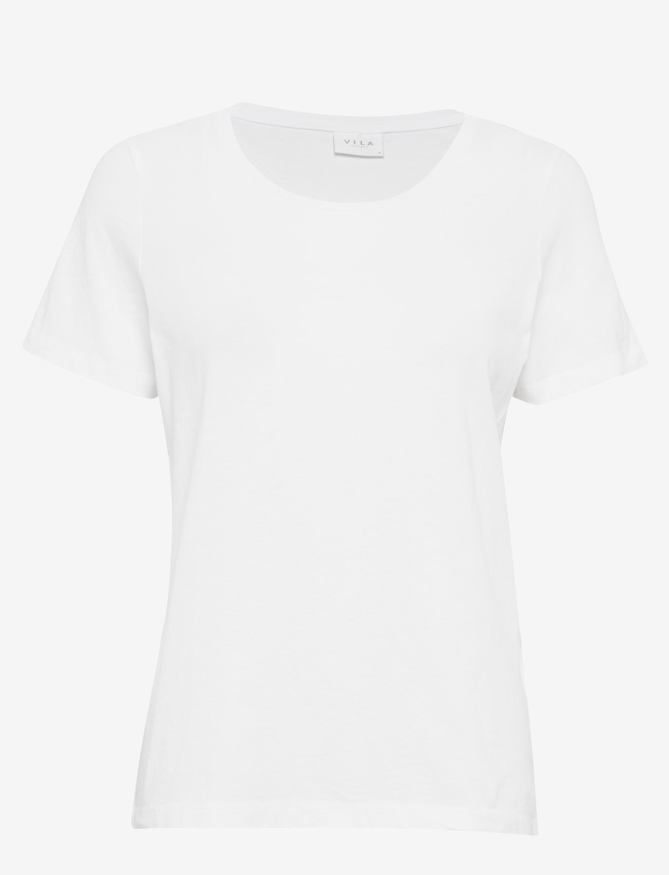 Vila - VISUS O-NECK S/S T-SHIRT/SU - NOOS - t-shirts - optical snow - 0