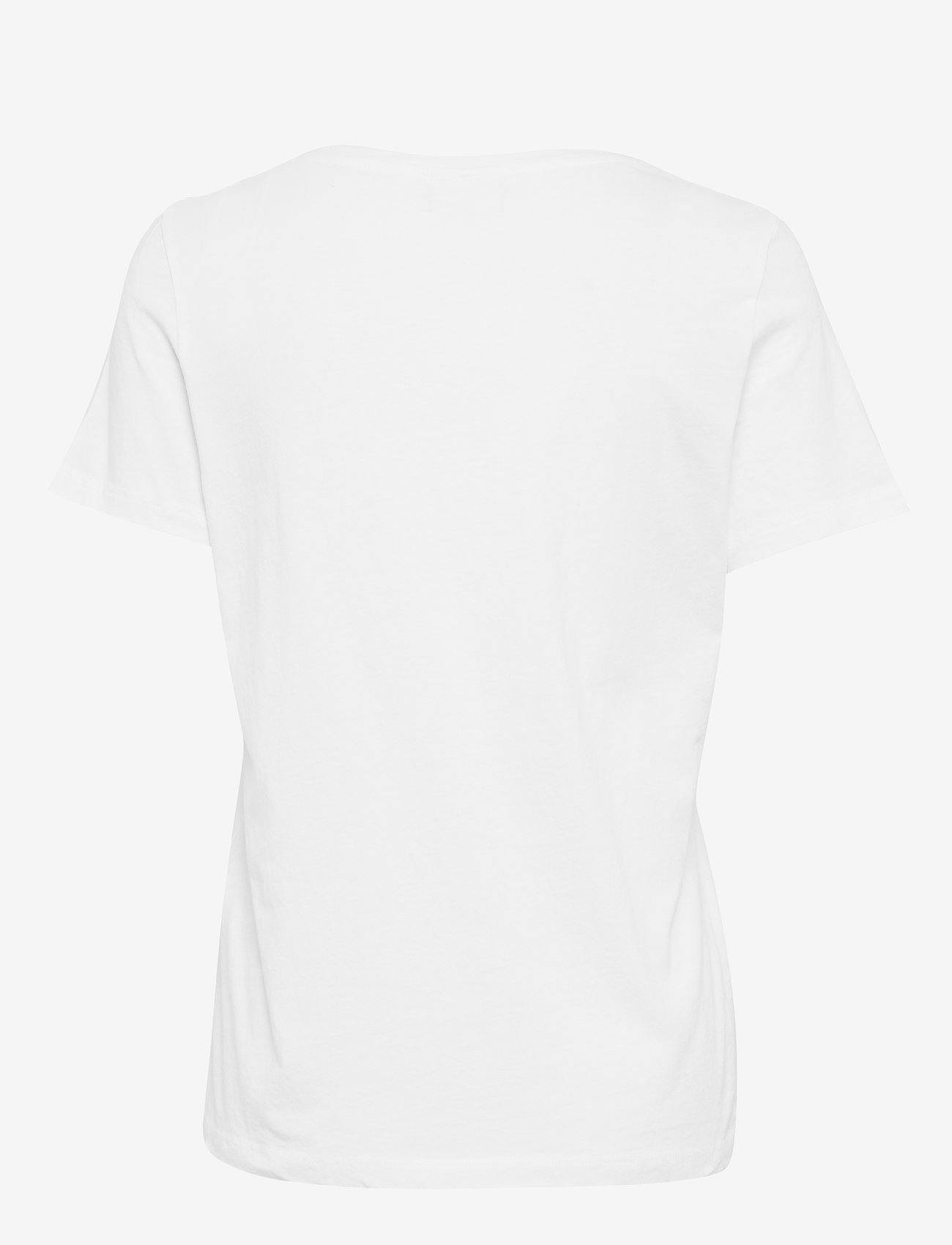 Vila - VISUS O-NECK S/S T-SHIRT/SU - NOOS - t-shirts - optical snow - 1