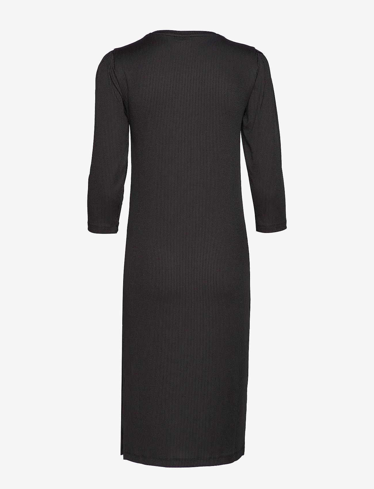 Vila - VISOFJA DRESS /KA - midi dresses - black - 1