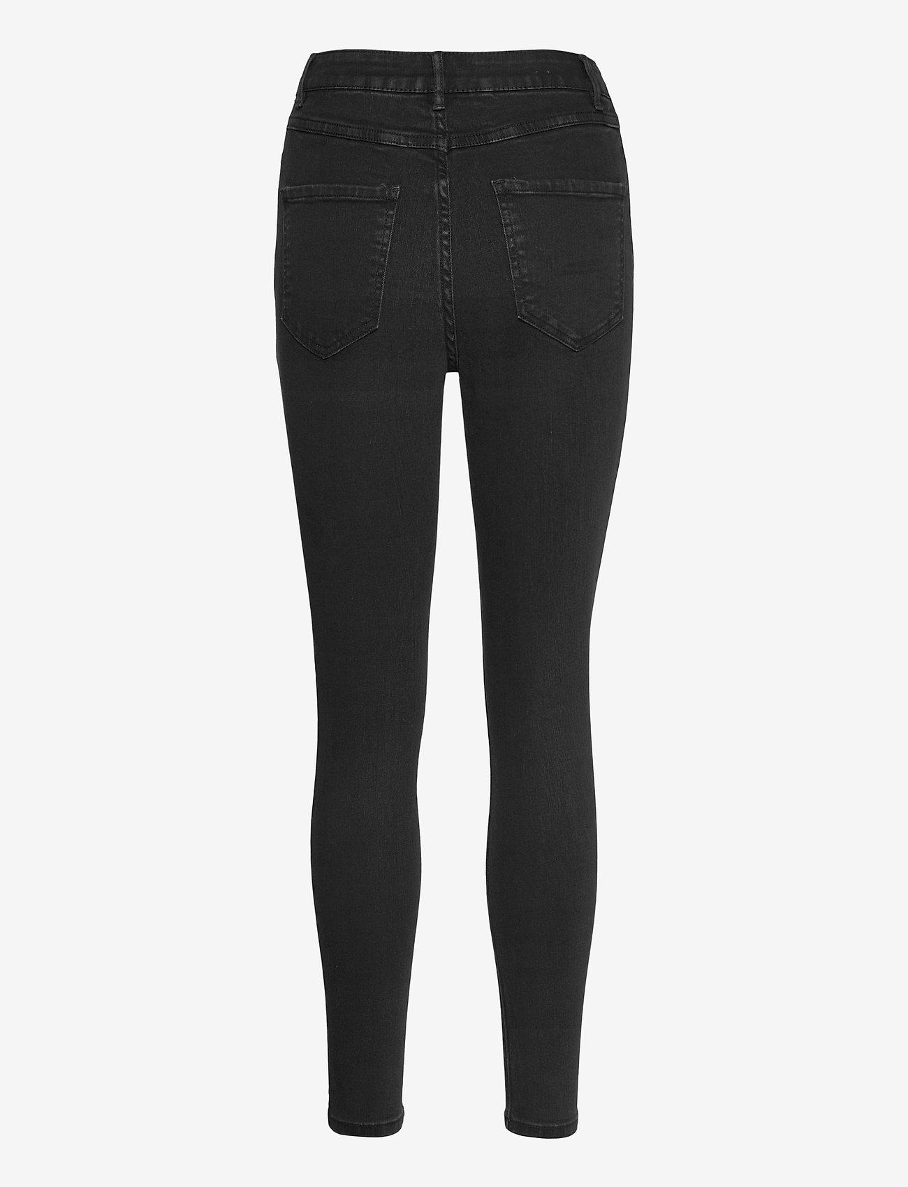 Vila - VIEKKO HWSK 7/8 JEANS/SU - - skinny jeans - black - 1