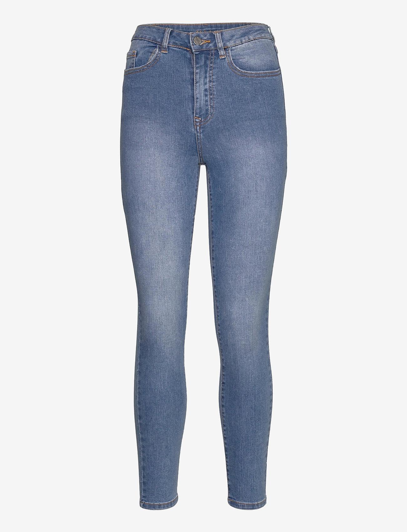 Vila - VIEKKO HWSK 7/8 JEANS/SU - - skinny jeans - medium blue denim - 0
