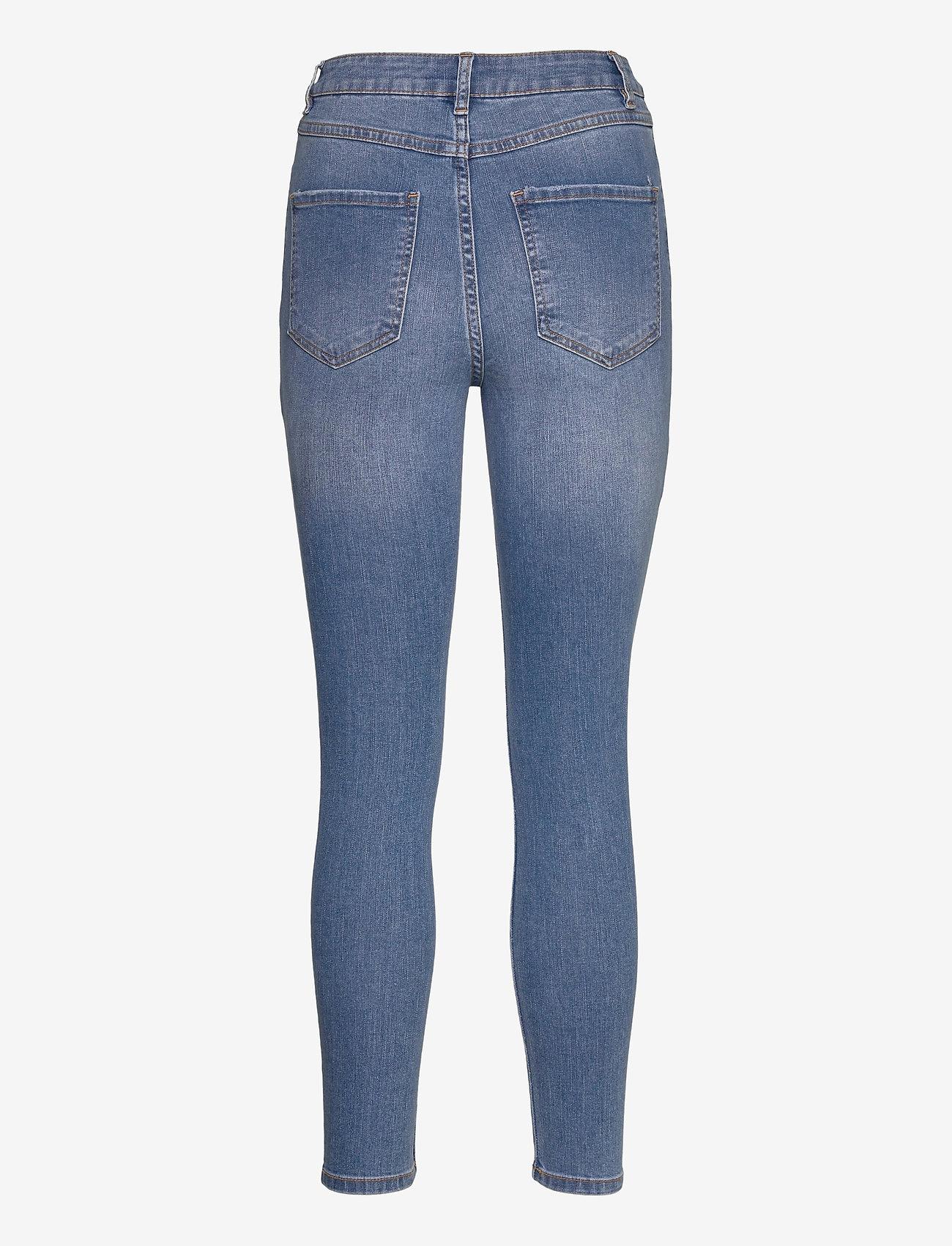Vila - VIEKKO HWSK 7/8 JEANS/SU - - skinny jeans - medium blue denim - 1