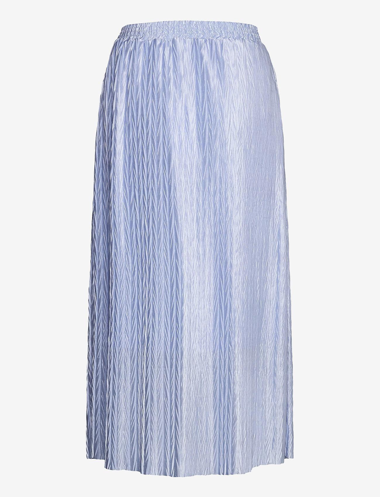 Vila - VIPLEASA HW MIDI SKIRT/DES - maxi skirts - kentucky blue - 1