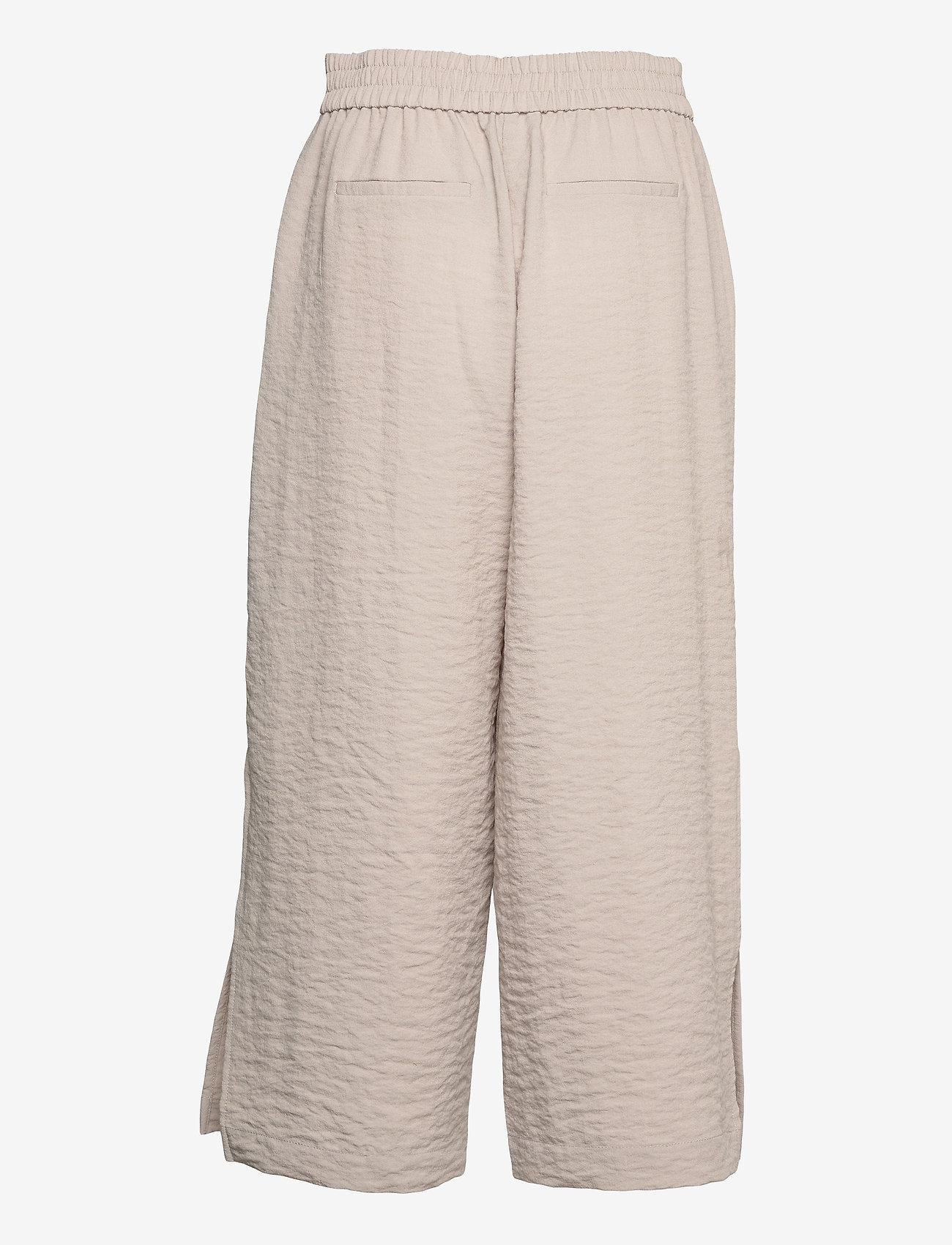 Vila - VILINEA RW 7/8 PANTS/2 - bukser med brede ben - dove - 1