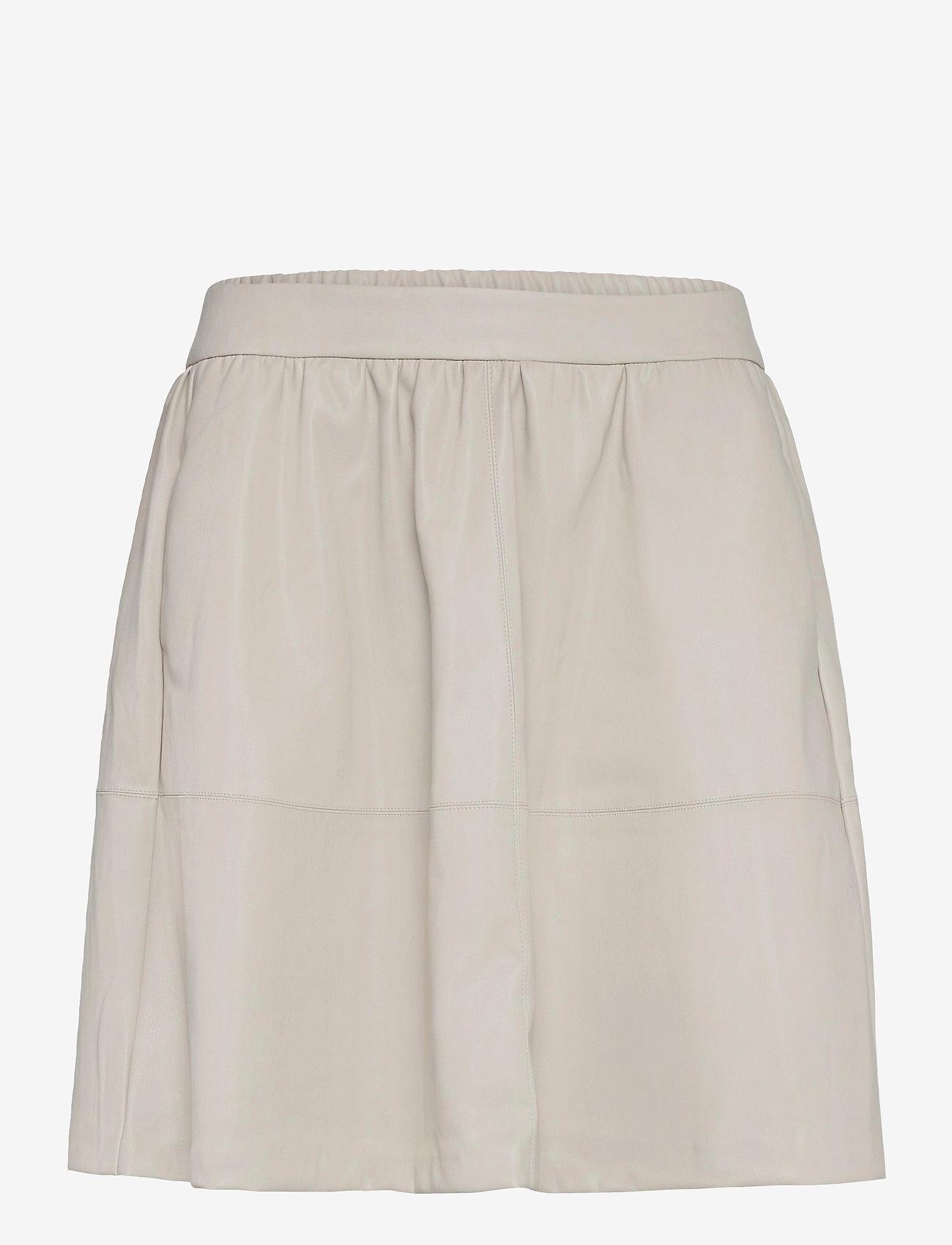Vila - VICHOOSY HW SKIRT/PB/DES - korta kjolar - dove - 0