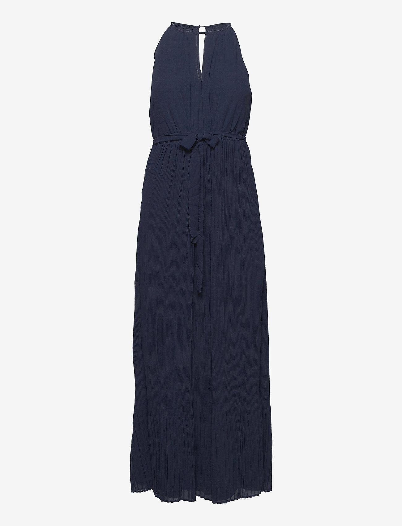 Vila - VIKATELYN HALTERNECK DRESS/DC/SU - sommerkjoler - navy blazer - 0