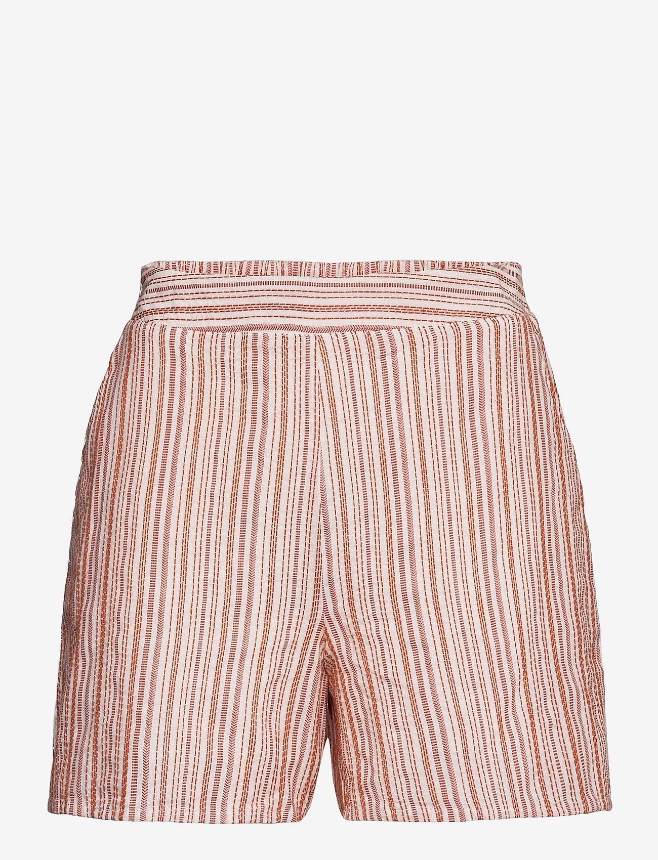Vila - VIVIGGA HW SHORTS - shorts casual - cloud dancer - 0