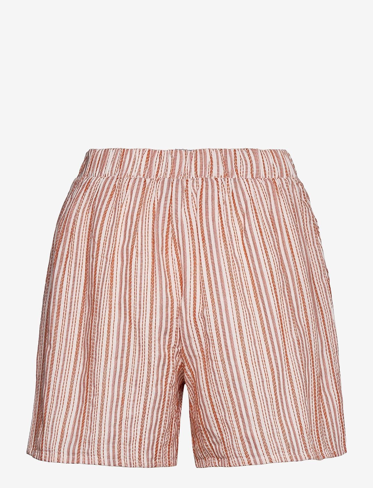 Vila - VIVIGGA HW SHORTS - shorts casual - cloud dancer - 1