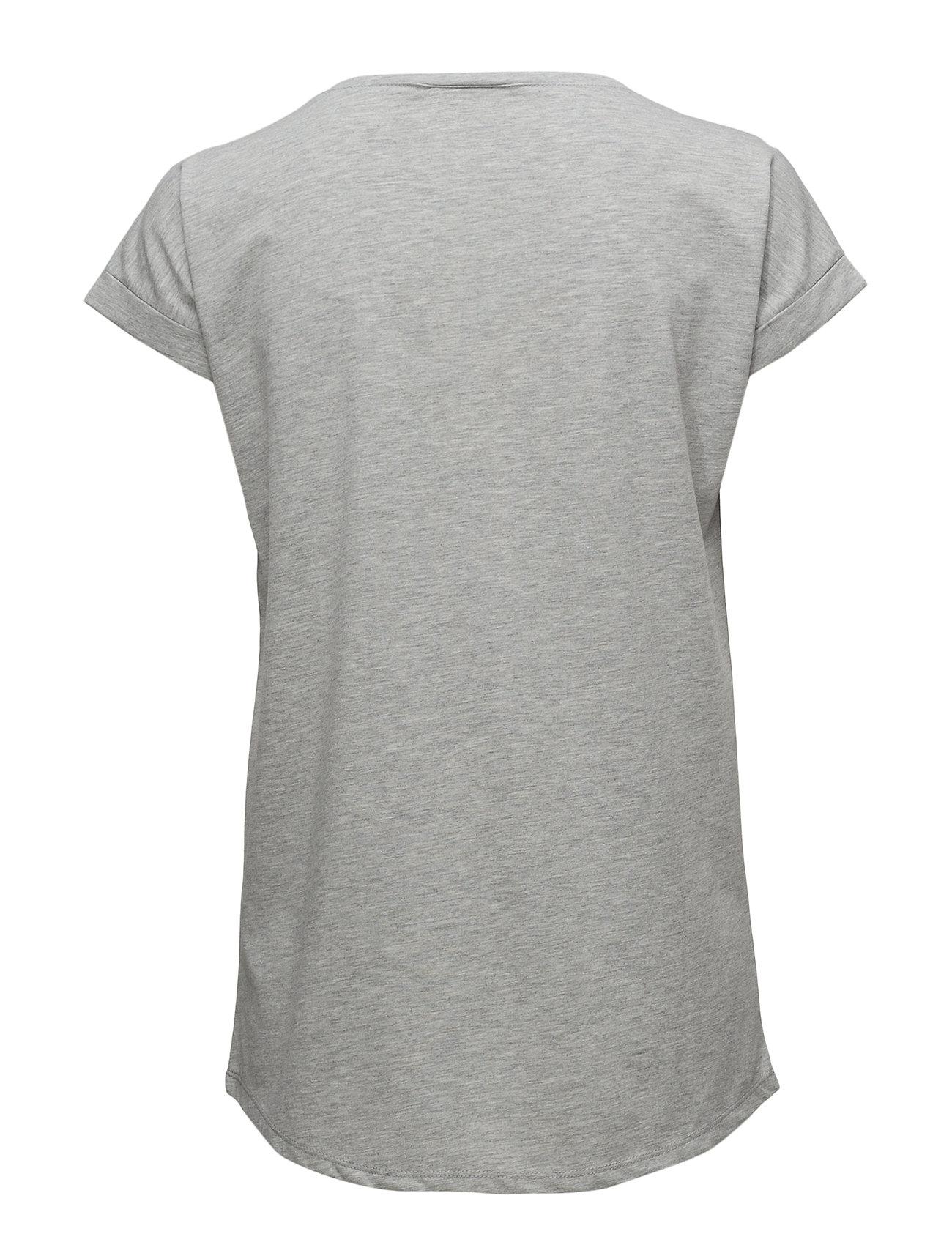 Vidreamers Pure T Shirt Noos T shirt Top Grå VILA