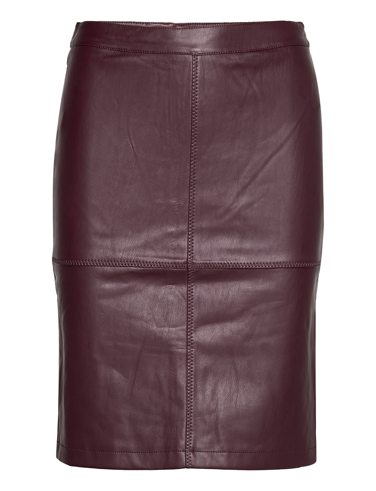 Vila VIPEN NEW COATED SKIRT - NOOS - WINETASTING
