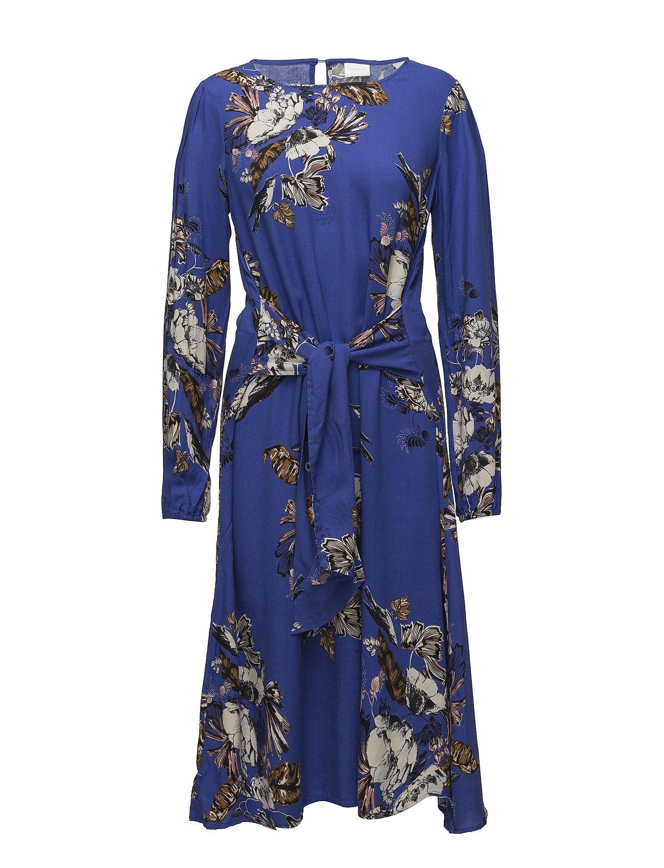 8c98b2e4833 Vila Viesto Sano L/s Midi Dress (Clematis Blue), (20 €) | Large ...