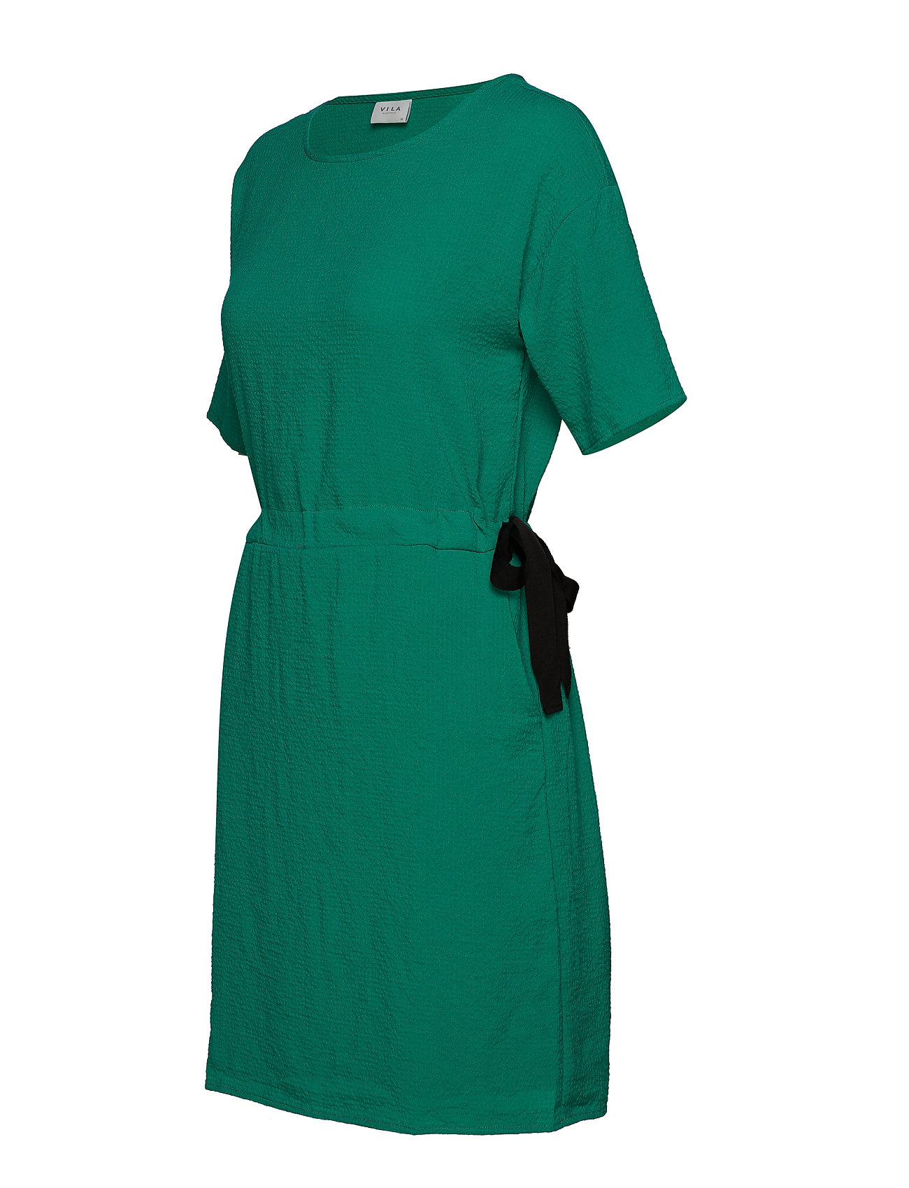 Vila - VILAMIDA 2/4 DRESS - short dresses - pepper green - 1