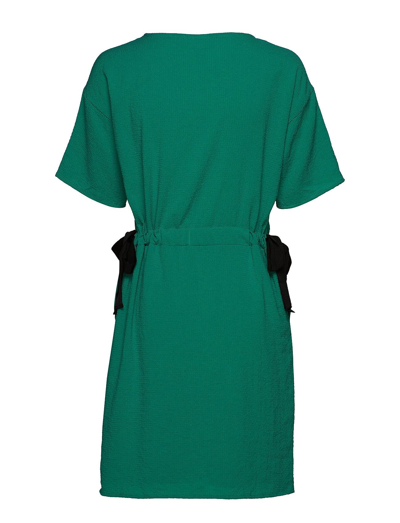 Vila VILAMIDA 2/4 DRESS - Sukienki PEPPER GREEN - Kobiety Odzież.