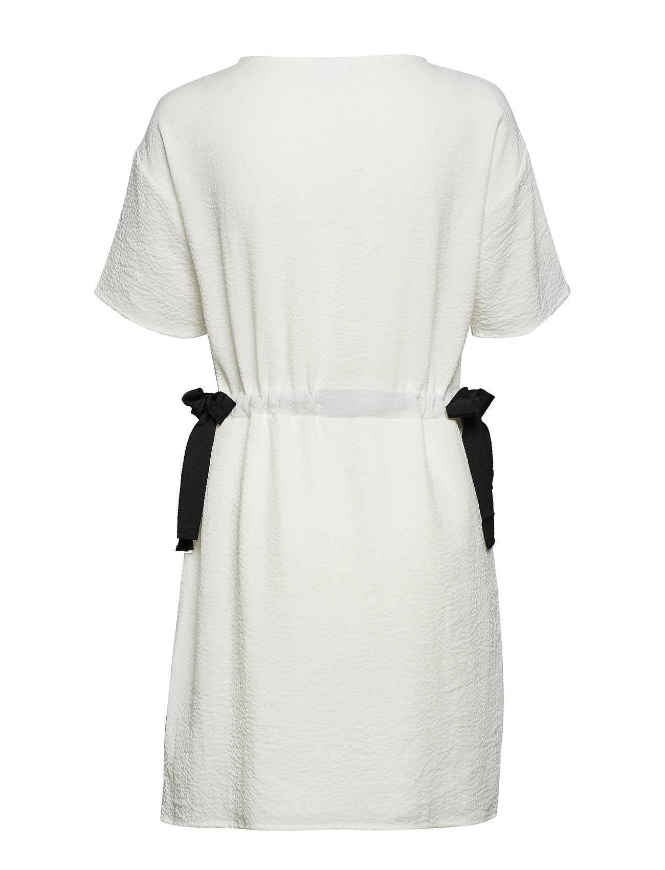 Vila - VILAMIDA 2/4 DRESS - short dresses - snow white - 1