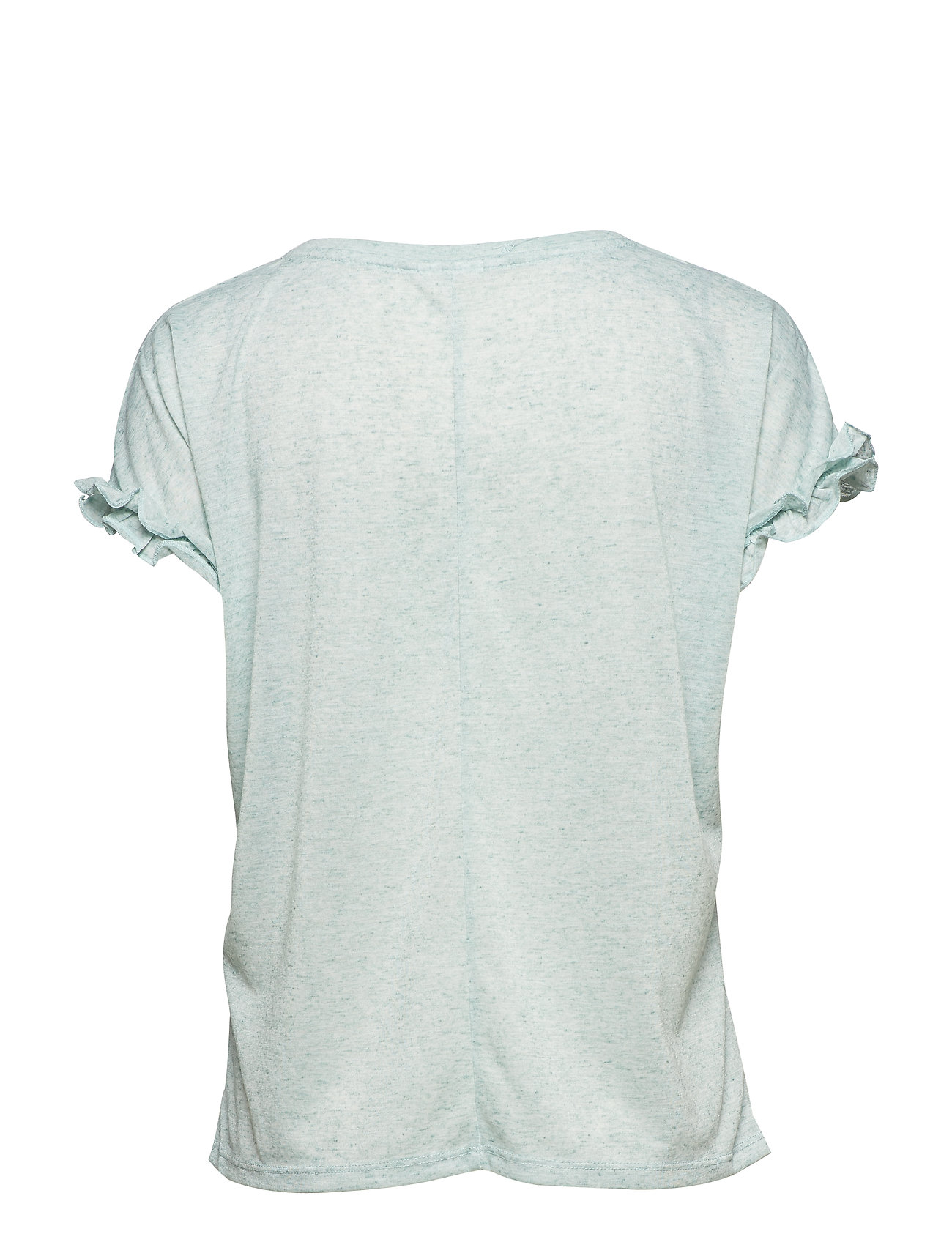 Vihaldis SS T Shirt T shirt Top Blå VILA