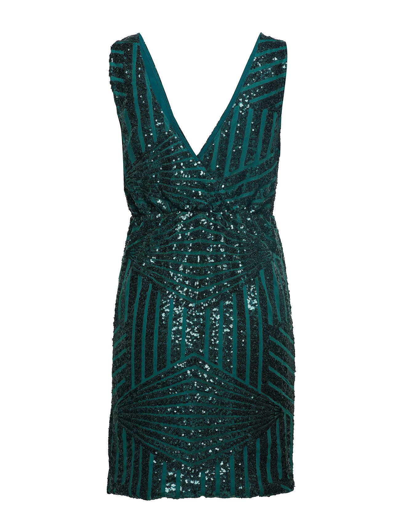 Vila Vimikka S/l Dress (Pine Grove) 305.49 kr   Stort utbud av designermärken hsekLqM2