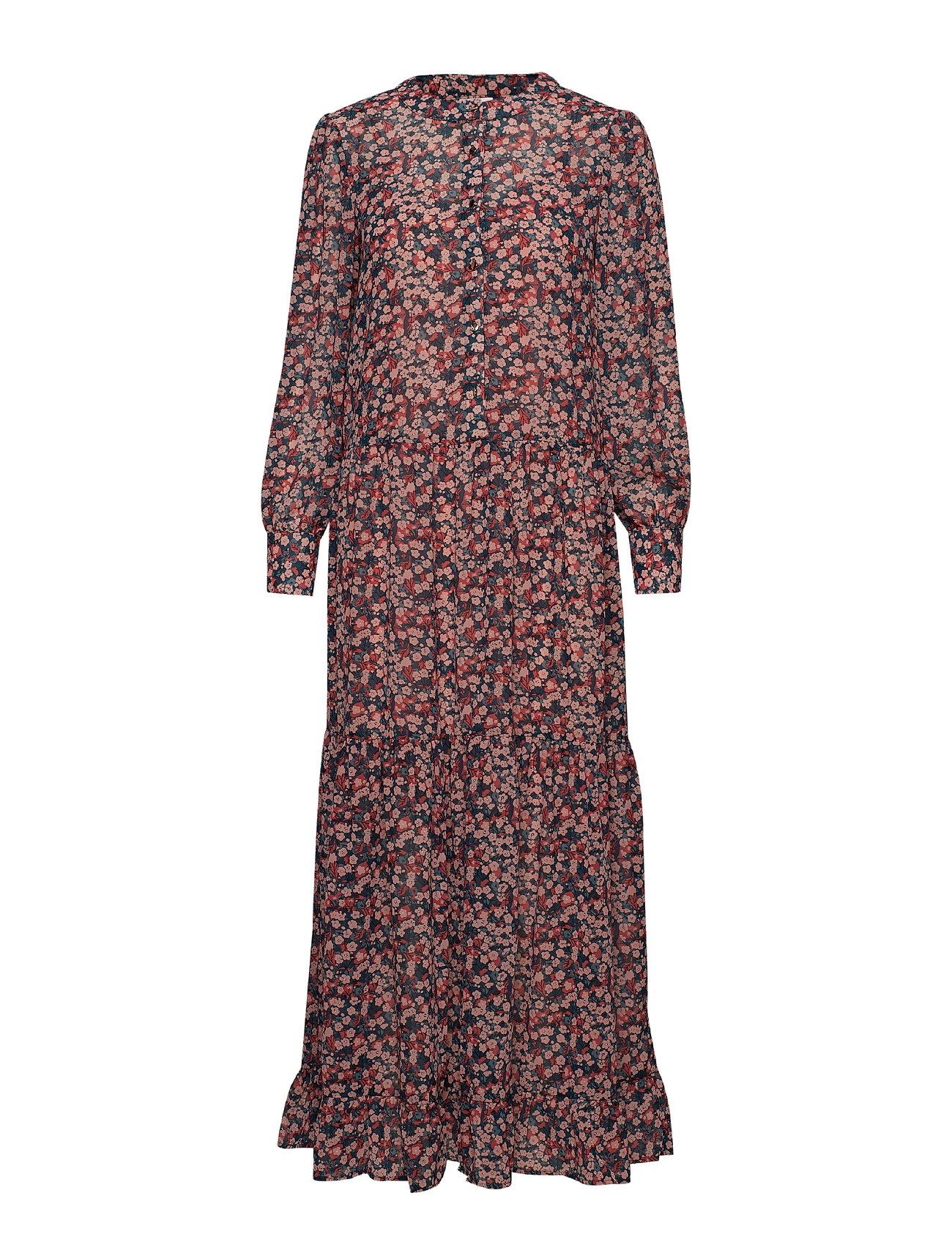 20849035a432 Viflova L s Ankel Dress  rx (Brandied Apricot) (399 kr) - Vila ...