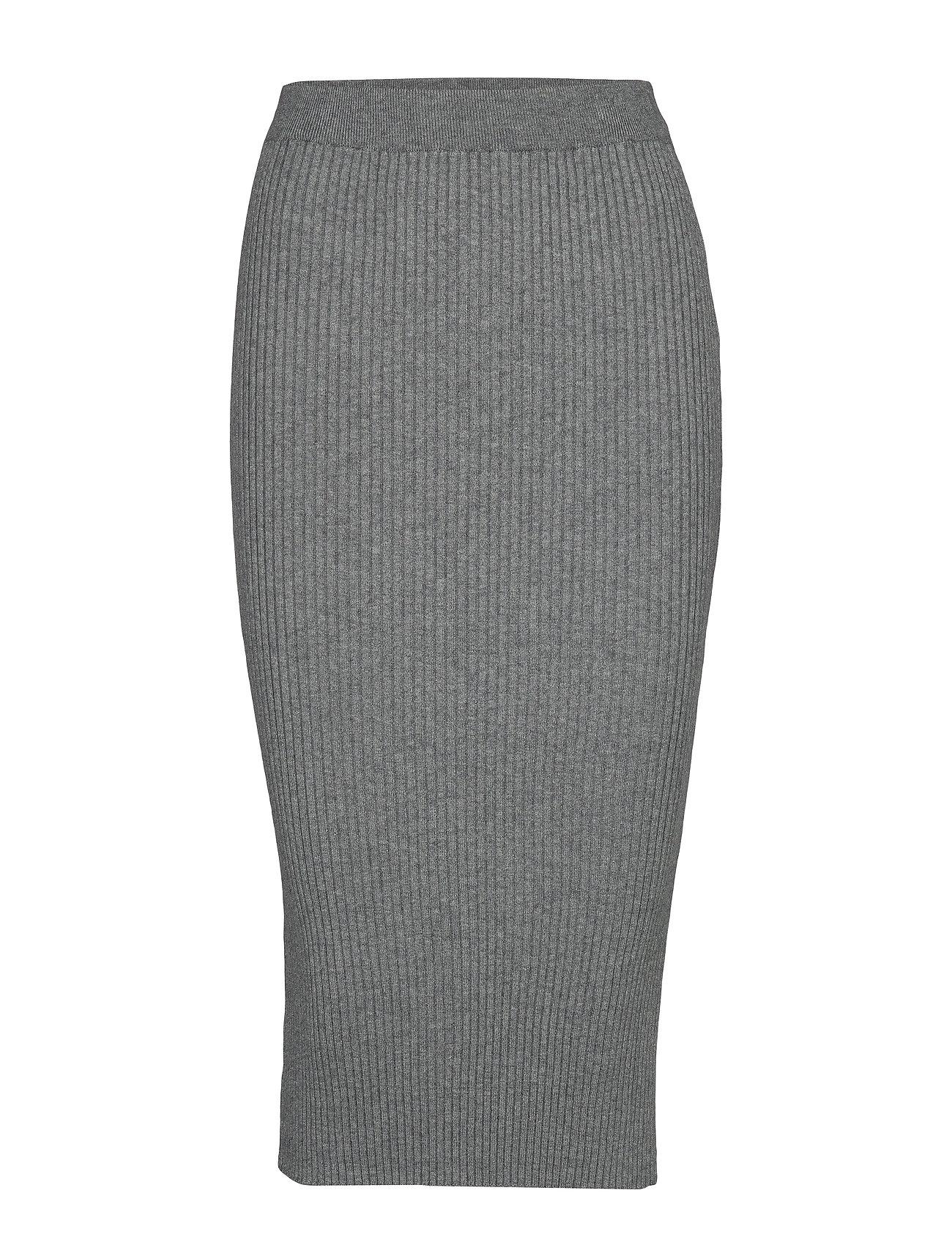 8 Knit MelangeVila 7 Violiv Skirt Grey Pencil lmedium eDHW2IEb9Y