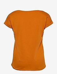 Vila - VIDREAMERS PURE T-SHIRT-NOOS - t-shirts - pumpkin spice - 1
