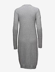 Vila - VIRIL LONG L/S  KNIT CARDIGAN - NOOS - cardigans - light grey melange - 1