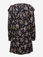Vila - VIBETH L/S SLEEVE DRESS - short dresses - total eclipse - 1