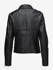 Vila - VICARA COATED JACKET/SU - NOOS - leather jackets - black - 2