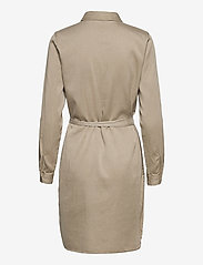 Vila - VIBISTA DENIM BELT DRESS/SU - - blousejurken - simply taupe - 2