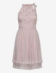 Vila - VIZINNA NEW S/L DRESS- - blondekjoler - pale mauve - 0