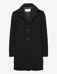 Vila - VILIOSI TEDDY COAT/SU - - faux fur - black - 0